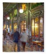 Caffe Florian Arcade Fleece Blanket