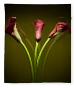 Cala Lily Fleece Blanket