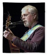 Canadian Folk Rocker Bruce Cockburn Fleece Blanket