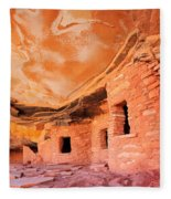 Canyon Ruins Fleece Blanket