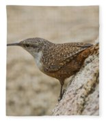 Canyon Wren Fleece Blanket