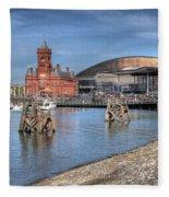Cardiff Bay Fleece Blanket