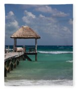 Caribbean Landing Fleece Blanket
