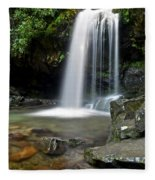 Cascading Falls Fleece Blanket