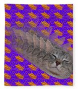 Cat Trip Pop 002 Limited Fleece Blanket