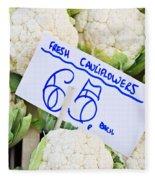 Cauliflower Fleece Blanket
