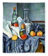 Cezanne's The Peppermint Bottle Fleece Blanket