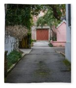 Charleston Alley Fleece Blanket
