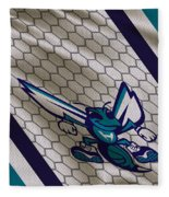 Charlotte Hornets Uniform Fleece Blanket