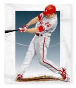Chase Utley Fleece Blanket