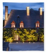 Chateau Chenonceau Fleece Blanket