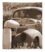 Chevrolet Rust Bucket Fleece Blanket