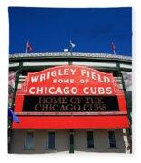 Chicago Cubs - Wrigley Field Fleece Blanket