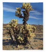 Cholla Cactus Fleece Blanket