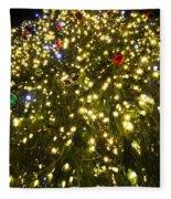 Christmas Tree Ornaments Faneuil Hall Tree Boston Fleece Blanket