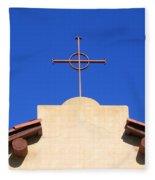 Church Cross Fleece Blanket
