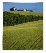 Church In The Field Fleece Blanket