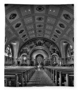 Church Of Saint Bernard Fleece Blanket