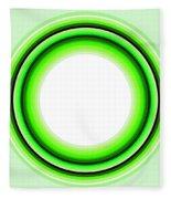 Circle Motif 145 Fleece Blanket