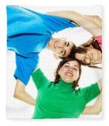 Circle Of Best Friends Fleece Blanket
