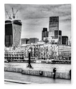 City Of London Fleece Blanket