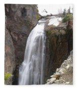 Clear Creek Falls Fleece Blanket