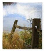 Cloud Reflections Fleece Blanket