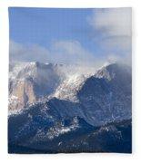 Cloudy Peak Fleece Blanket