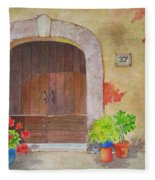 Color Me Tuscany Fleece Blanket