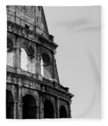 Colosseum - Rome Italy Fleece Blanket