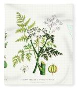 Common Poisonous Plants Fleece Blanket