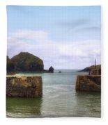 Cornwall - Mullion Cove Fleece Blanket