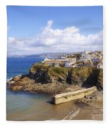 Cornwall - Port Isaac Fleece Blanket