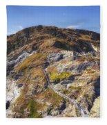 Cornwall - Tintagel Fleece Blanket