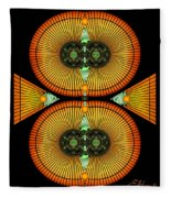 Cosmic Mitosis Fleece Blanket