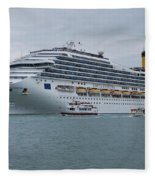 Costa Fortuna Fleece Blanket