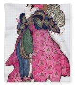 Costume Design For The Ballet La Fleece Blanket