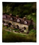 Country House In Bakewell Town Peak District - England Fleece Blanket