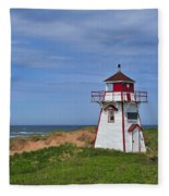 Covehead Harbour Lighthouse Fleece Blanket