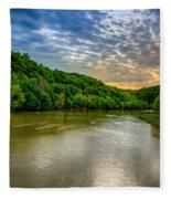 Cumberland River Fleece Blanket