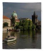 Czech Republic, Prague Fleece Blanket