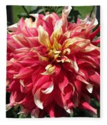 Dahlia Named Bodacious Fleece Blanket