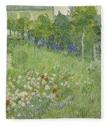 Daubigny's Garden Fleece Blanket