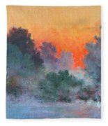 Dawn Mist Fleece Blanket