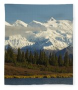 Denali National Park Fleece Blanket