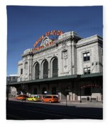 Denver - Union Station Fleece Blanket