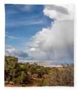 Desert Clouds Fleece Blanket