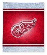 Detroit Red Wings Fleece Blanket