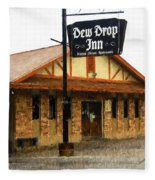 Dew Drop Inn Fleece Blanket