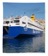 Diagoras Ferry Symi Fleece Blanket